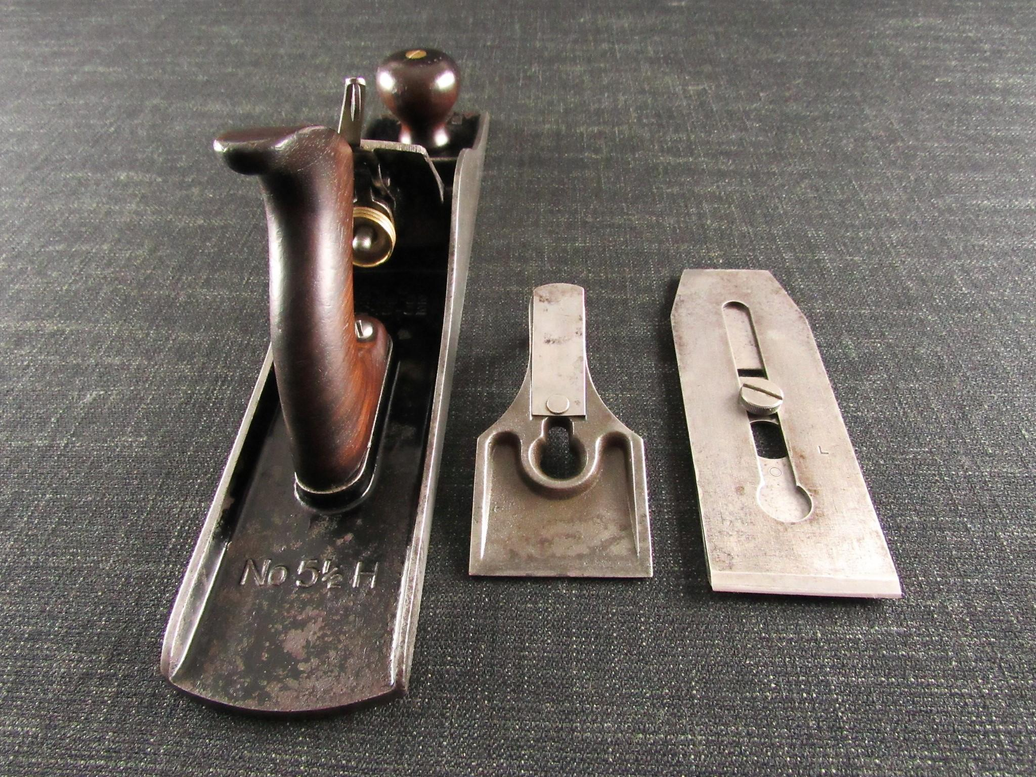 Rare American STANLEY 5 1/2 H Heavy Jack Plane