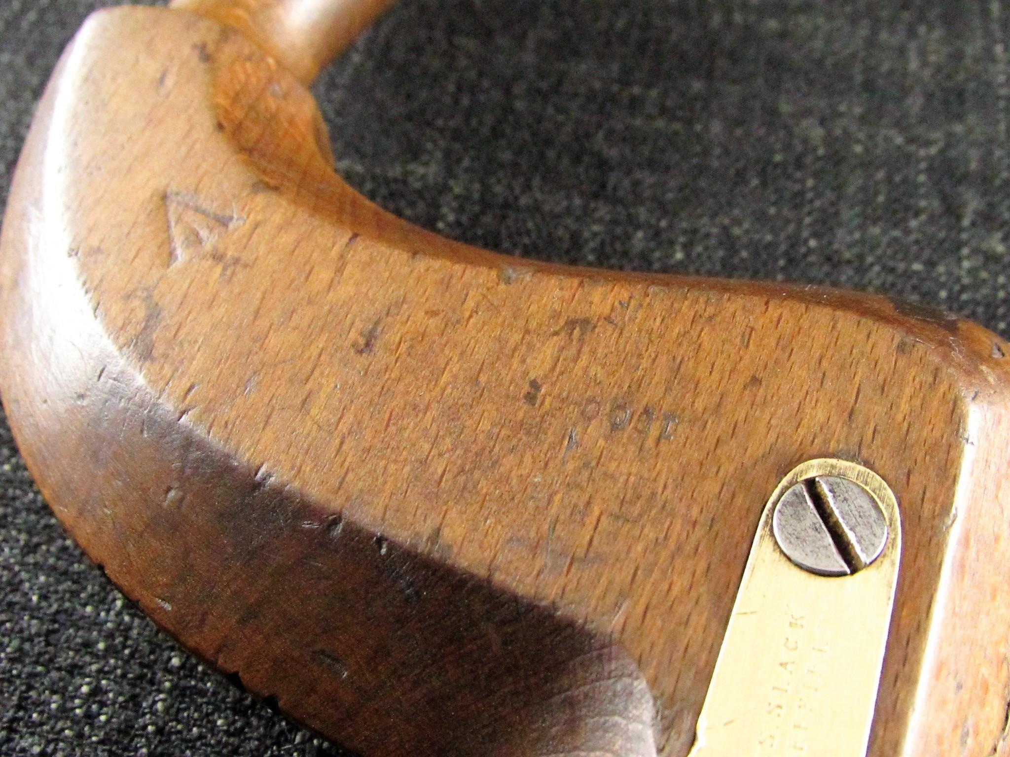 Brass Button Pad Beech Brace by Robert SLACK