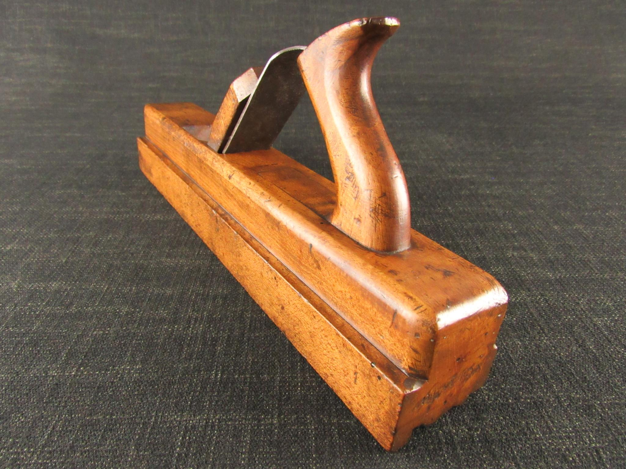 Rare 18th Century Cornice or Crown Moulding Plane by GABRIEL