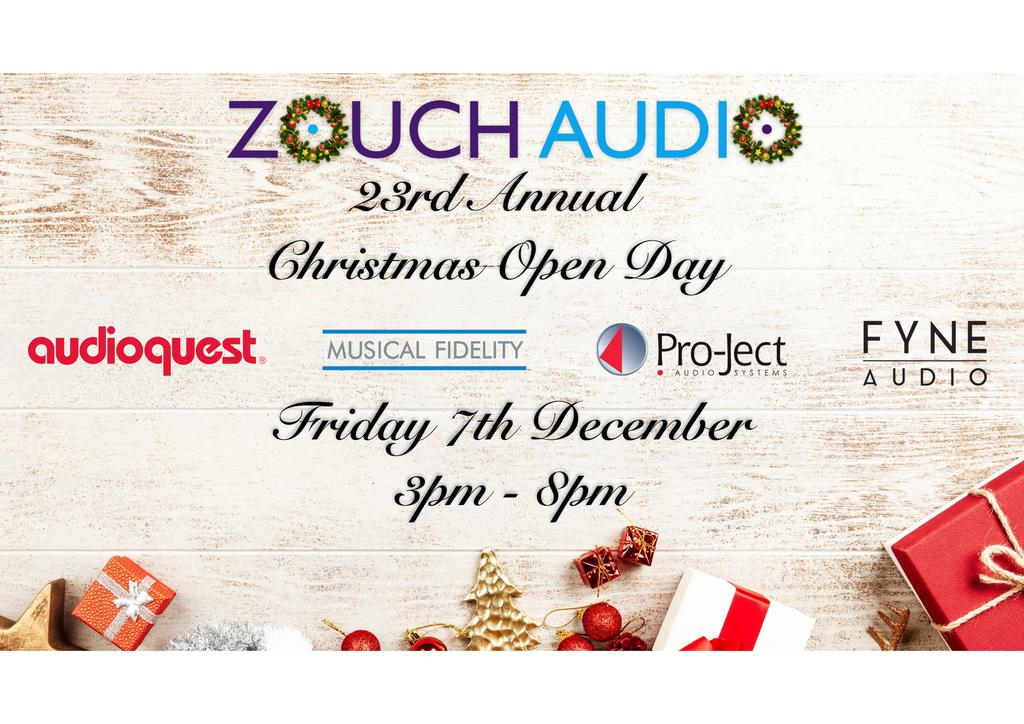 Zouch Audio's 23rd Annual Christmas Open Day