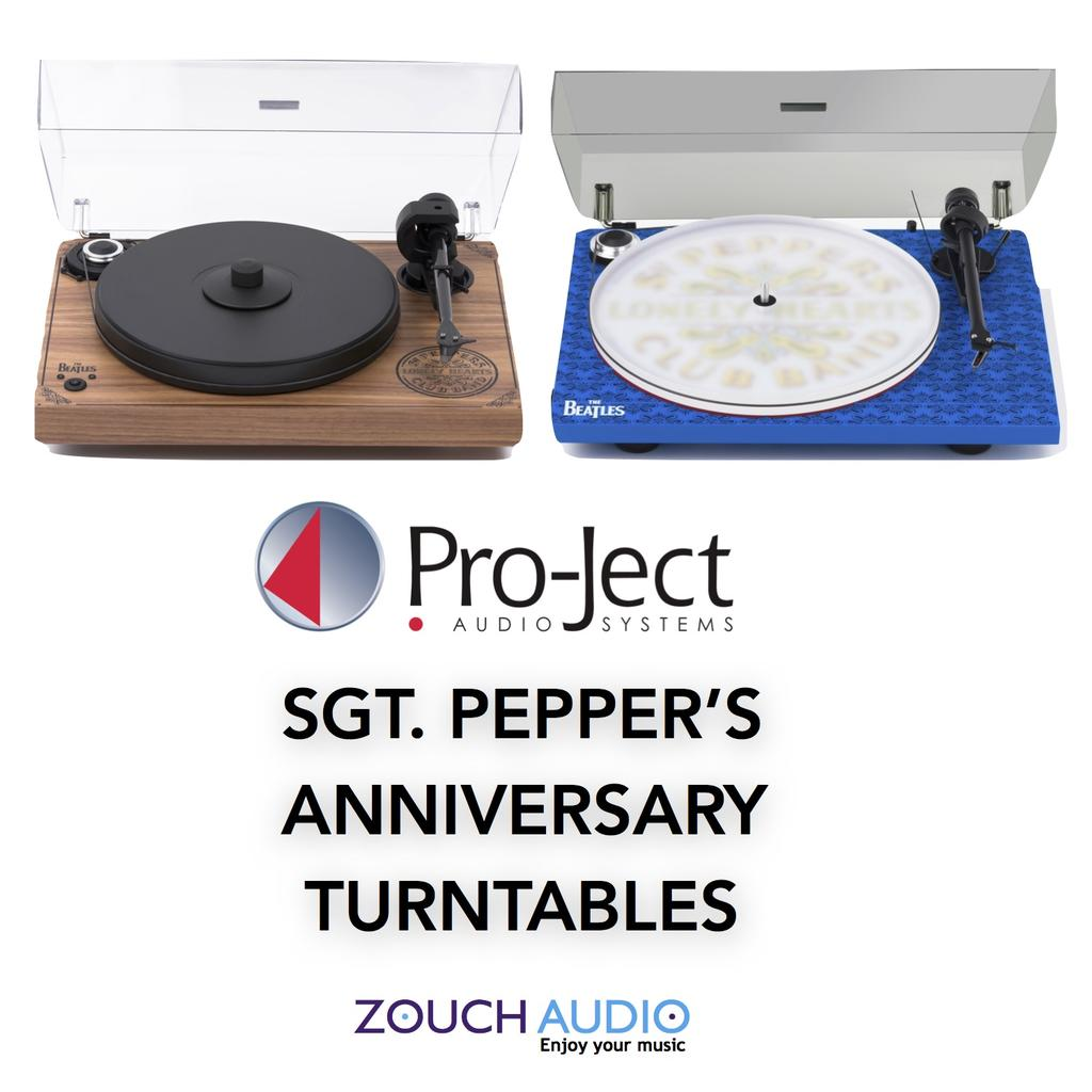 Pro-Ject announce Sgt. Pepper Turntables