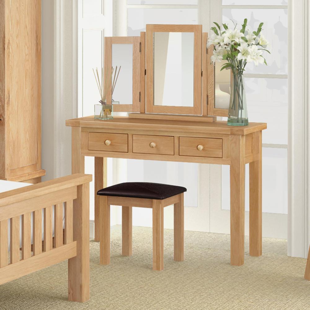 Dressing Tables: Buy Solid Oak Dressing Tables At Furniture Octopus