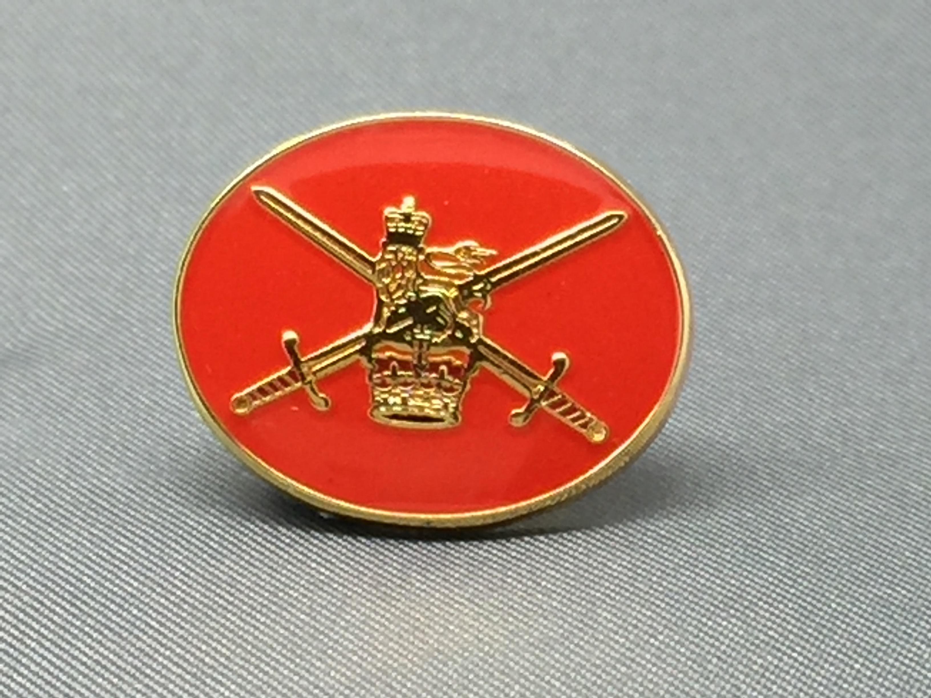 British Army Lapel Pin R
