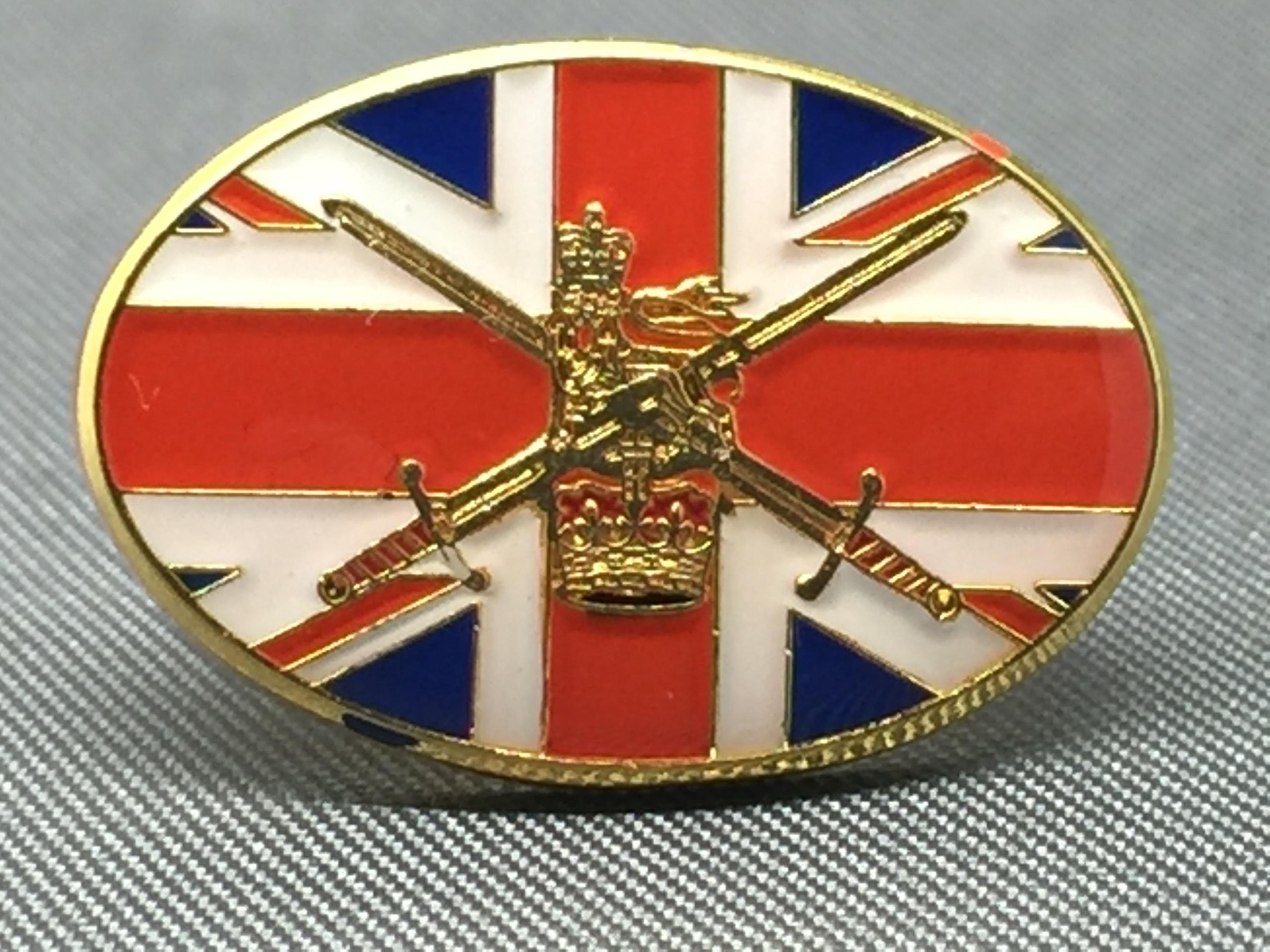Ranks In Marine >> British Army Lapel Pin (UF)