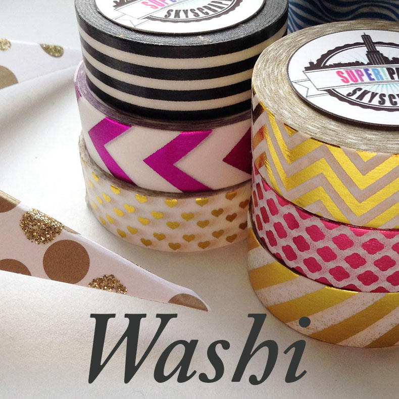 Washi Tape Selection