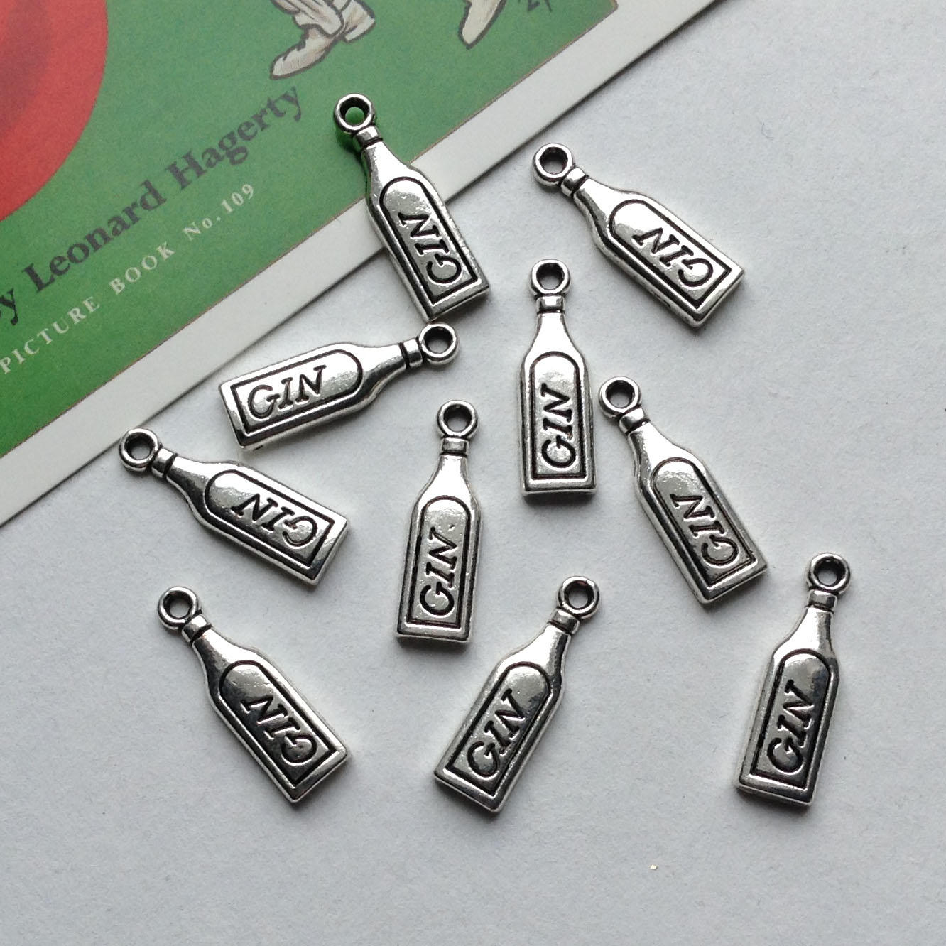 Charms Silver Tone & Silver Plated
