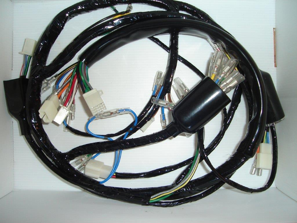 Z Power Wiring Harness Manufacturers In Uk 36500 34999 Loom Z650b1 1976 1977