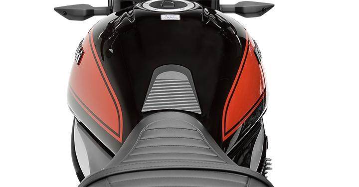 Cappad for Kawasaki Z 900 Z900 Z-900 Red