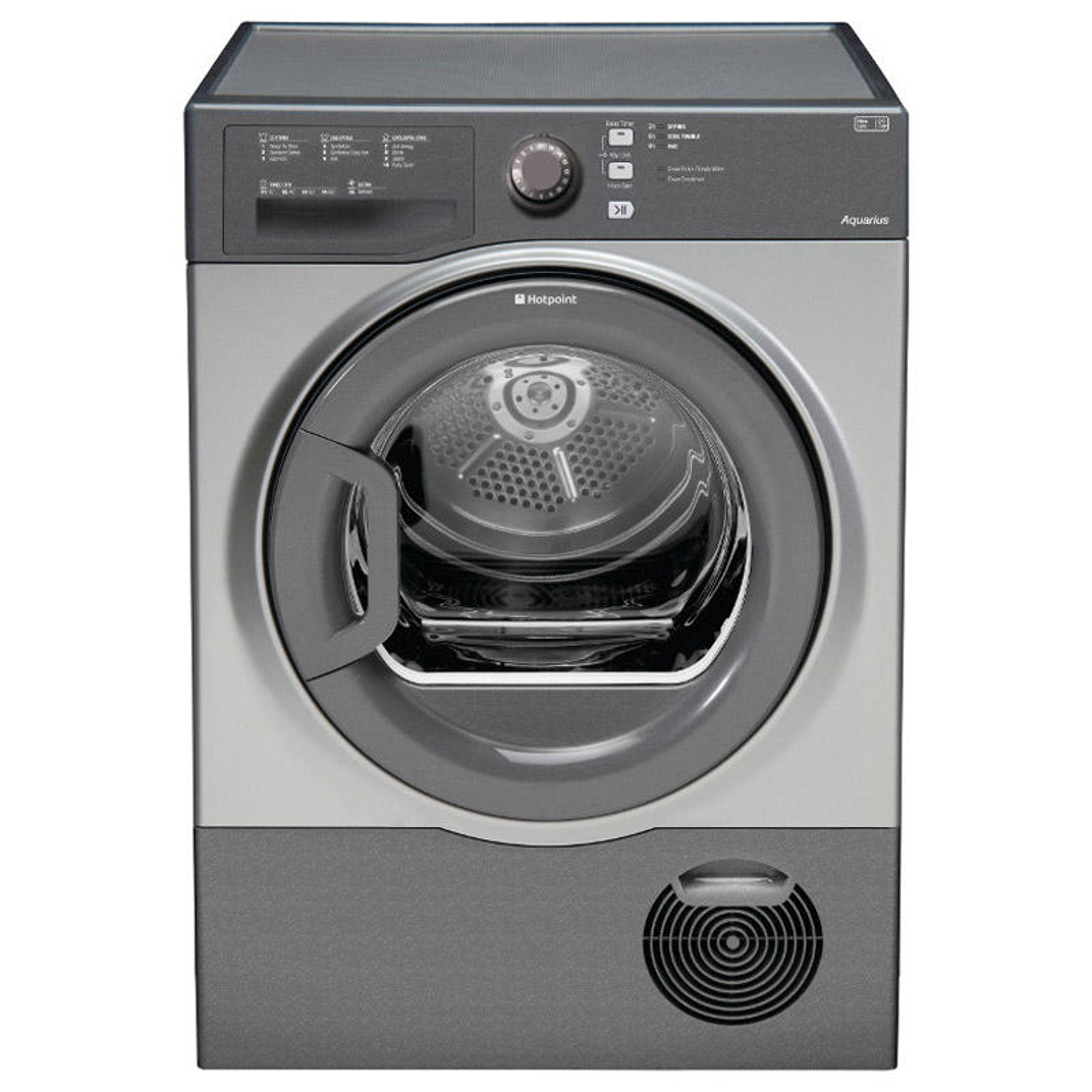 Hotpoint Tcfs83bgg Aquarius Condenser Tumble Dryer 8kg