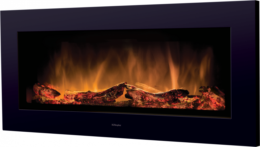 Marvelous Dimplex Sp16 2Kw Wall Mounted Remote Control Electric Fire Black Home Interior And Landscaping Mentranervesignezvosmurscom