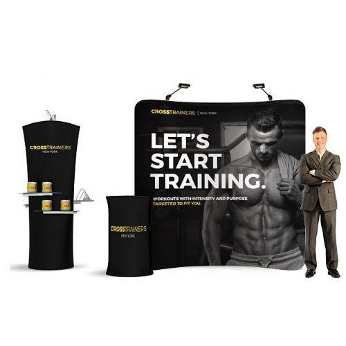 Best Small Exhibition Stands : Stretch graphics uk portable small exhibition pack