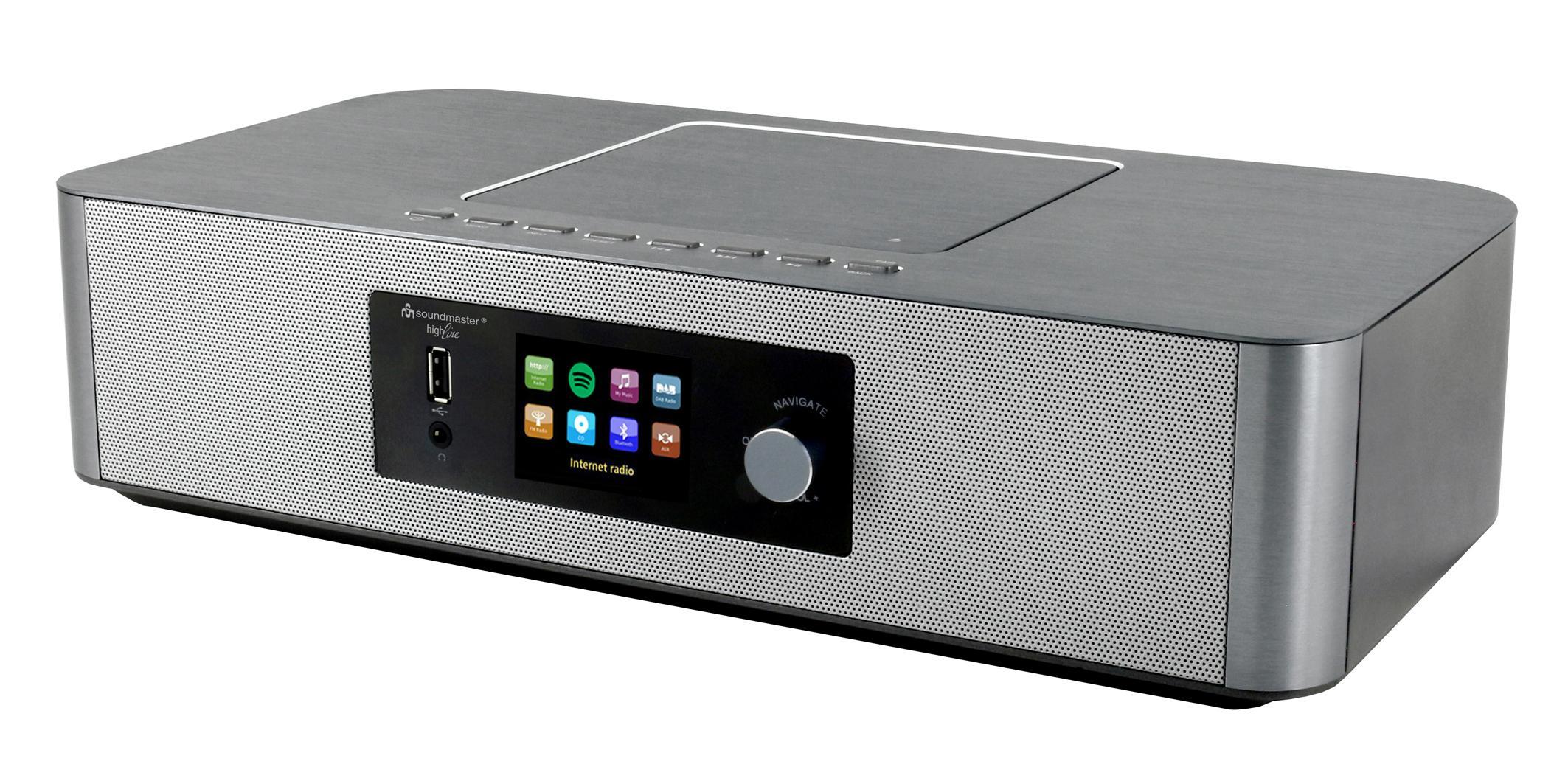 Buy Soundmaster Icd2020 Spotify Bluetooth Cd Player
