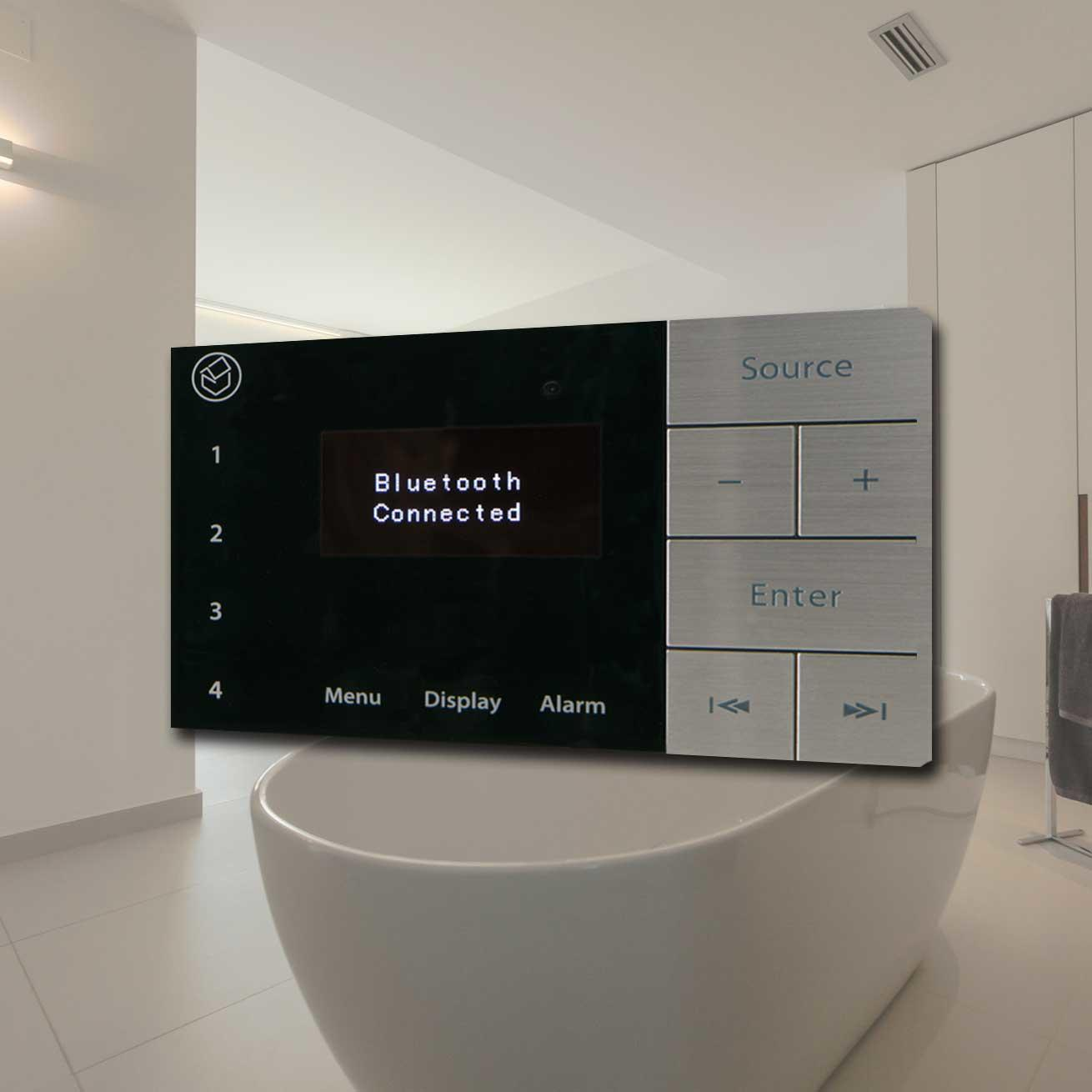 Bathroom Audio Visual Products Buycleverstuff