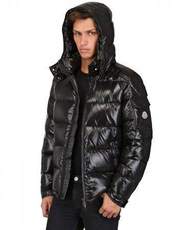 8c66b2640 MONCLER 'Maya' black down jacket