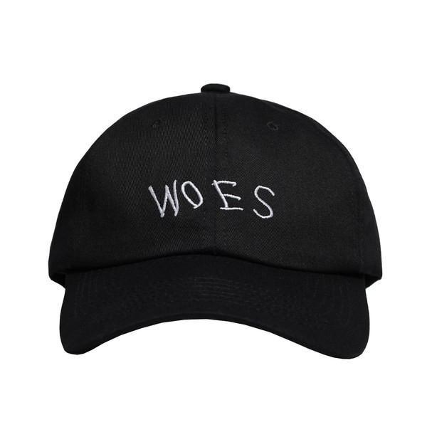 7949e2abc5cb WOES Black - Baseball Cap
