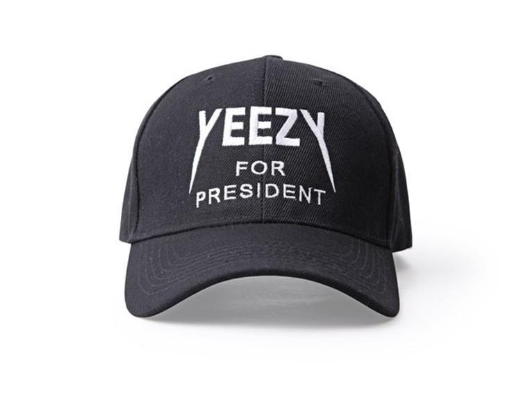 d0c42c11d20a YEEZY For President Black - Baseball Cap