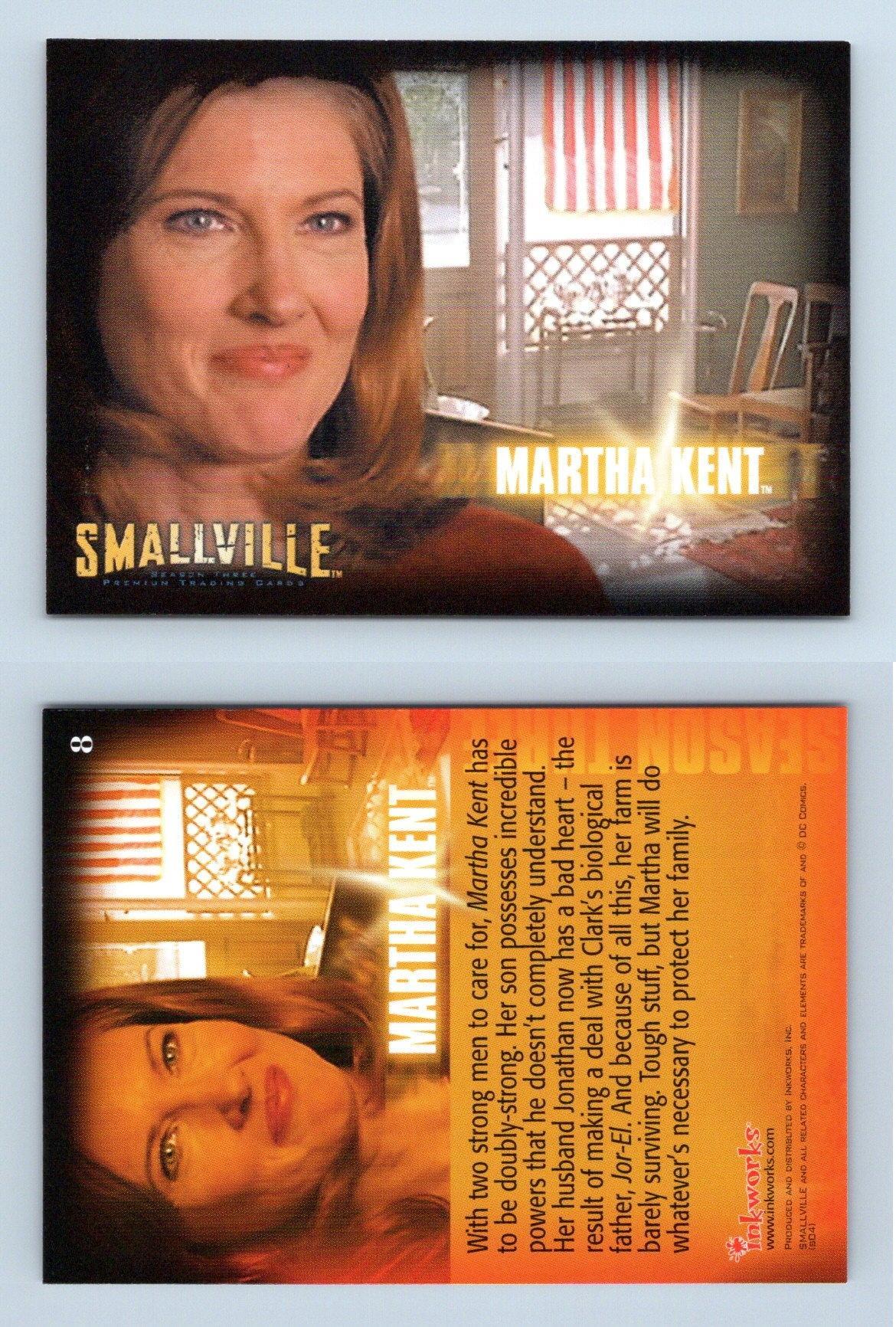 Smallville Season 3 Departures Chase Card D-6