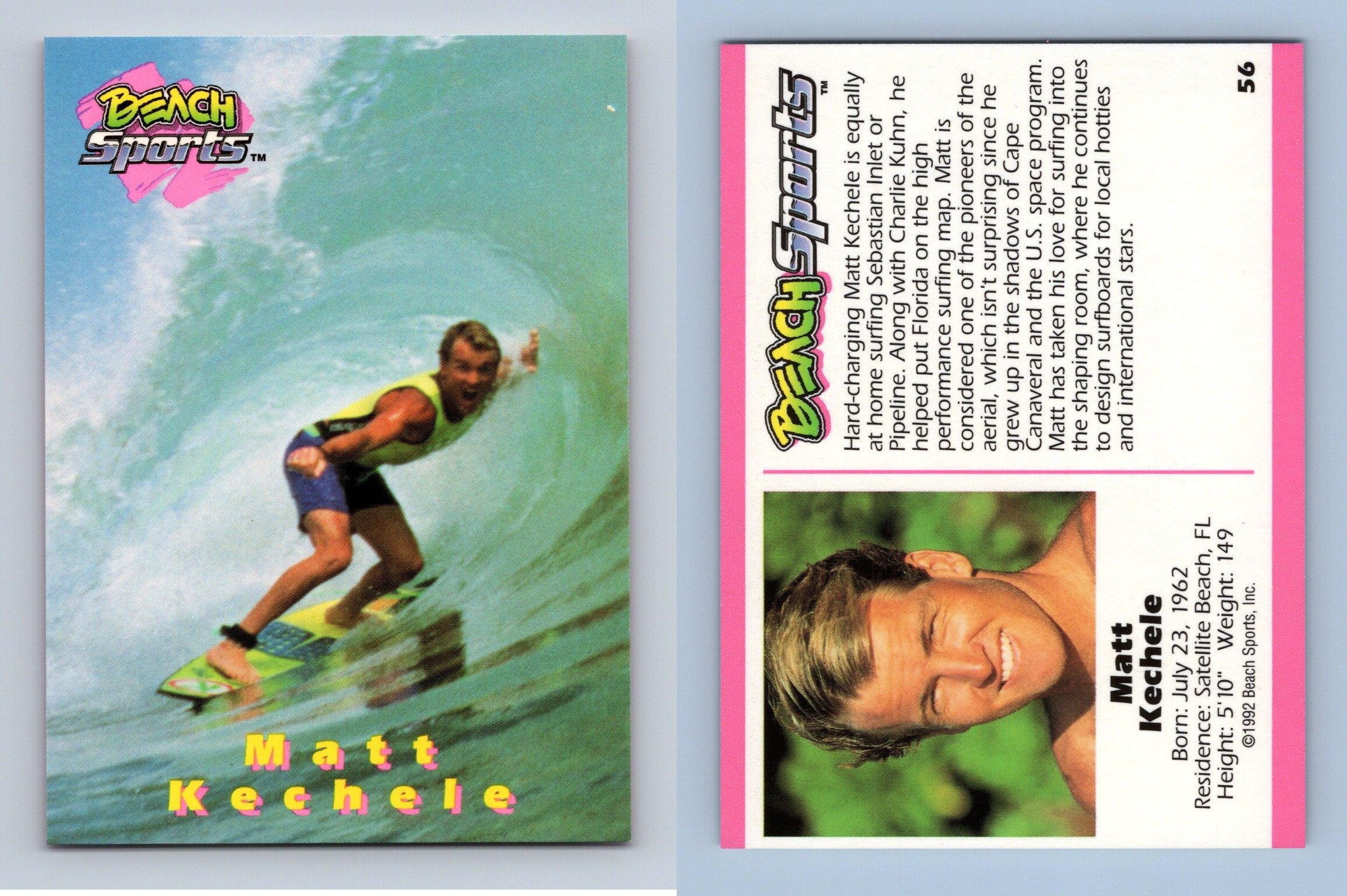 Owen McKibbin #13 Beach Sports 1992 Trading Card