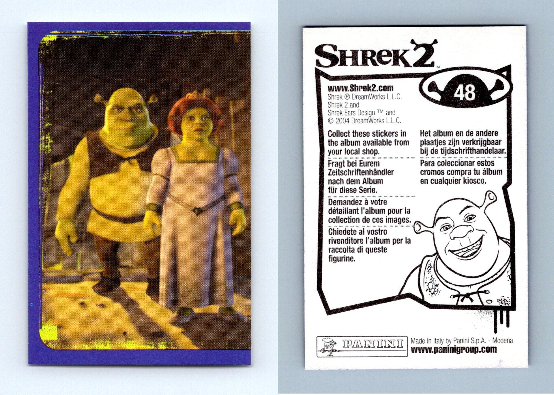 Shrek 2 48 Panini 2004 Dreamworks Sticker