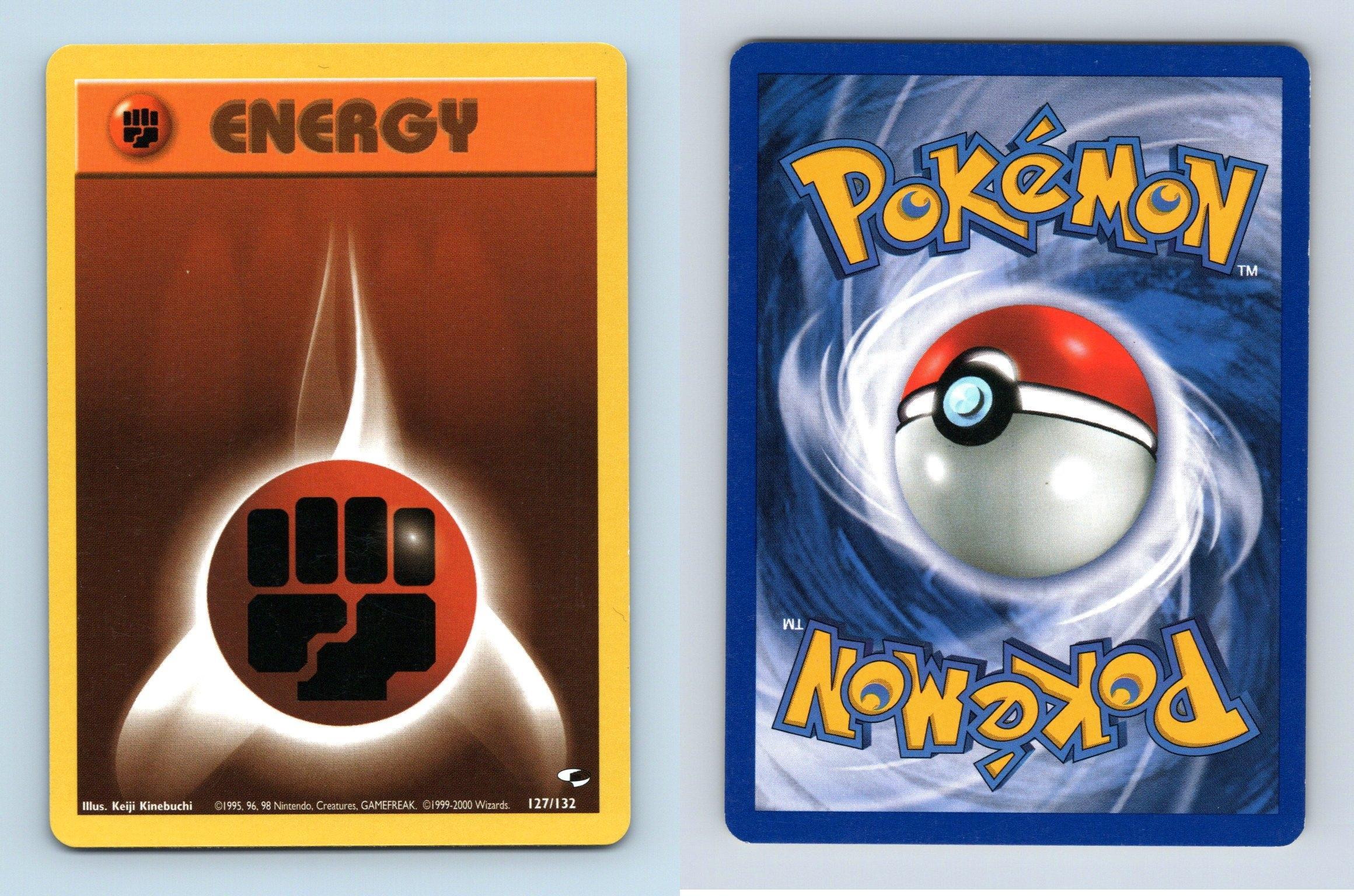 Lightning Energy #130//132 Gym Heroes Pokemon 2000 TCG Card