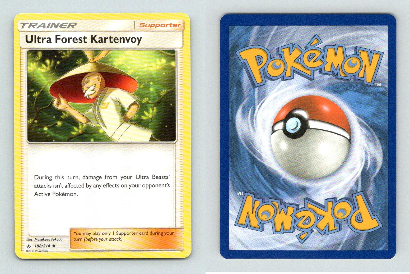 Pokemon SM UNBROKEN BONDS QUAGSIRE 97//214 RARE REVERSE
