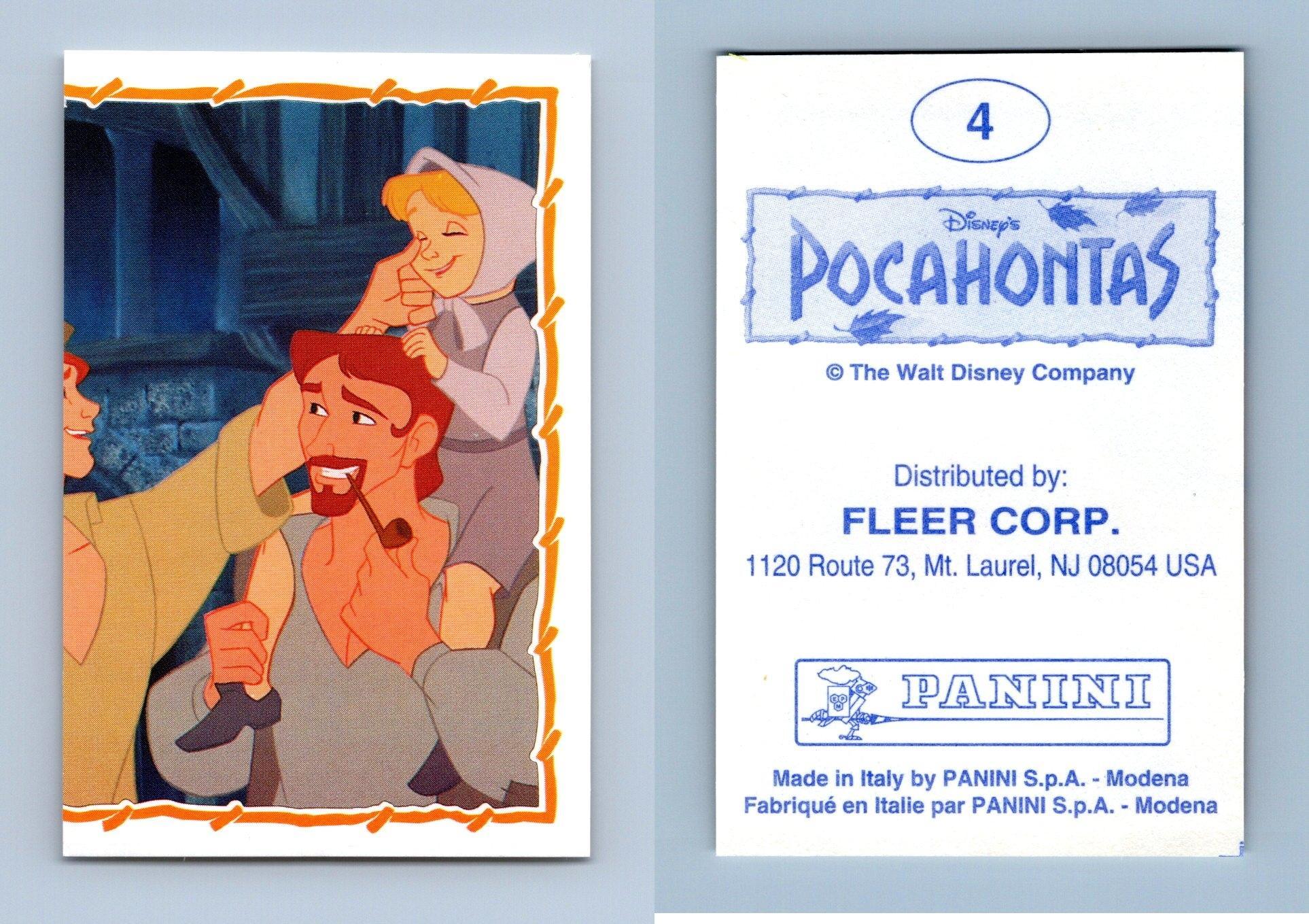 Pocahontas #14 Panini 1995 Disney Sticker