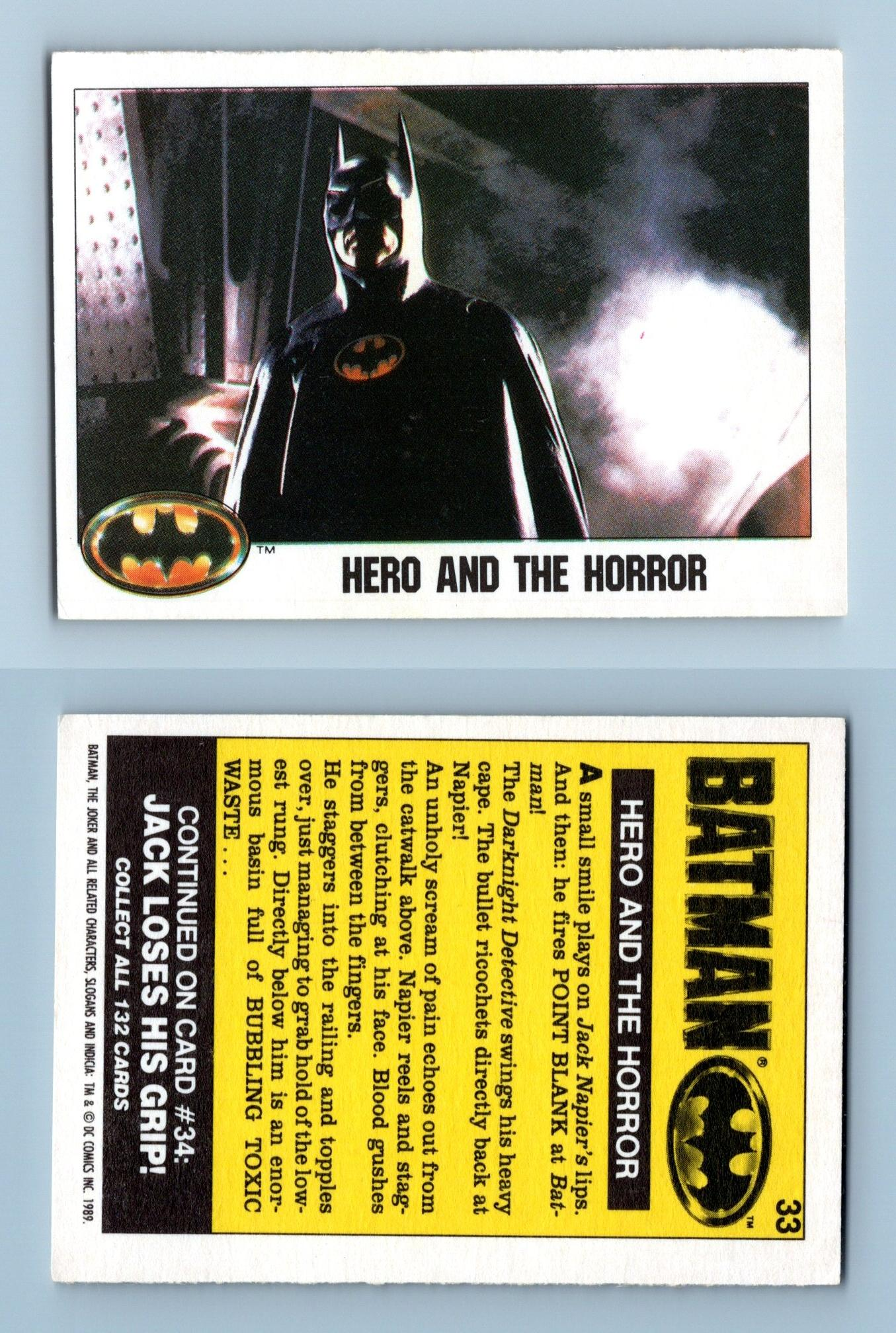 Batman #15 Topps 1989 Yellow Border Sticker