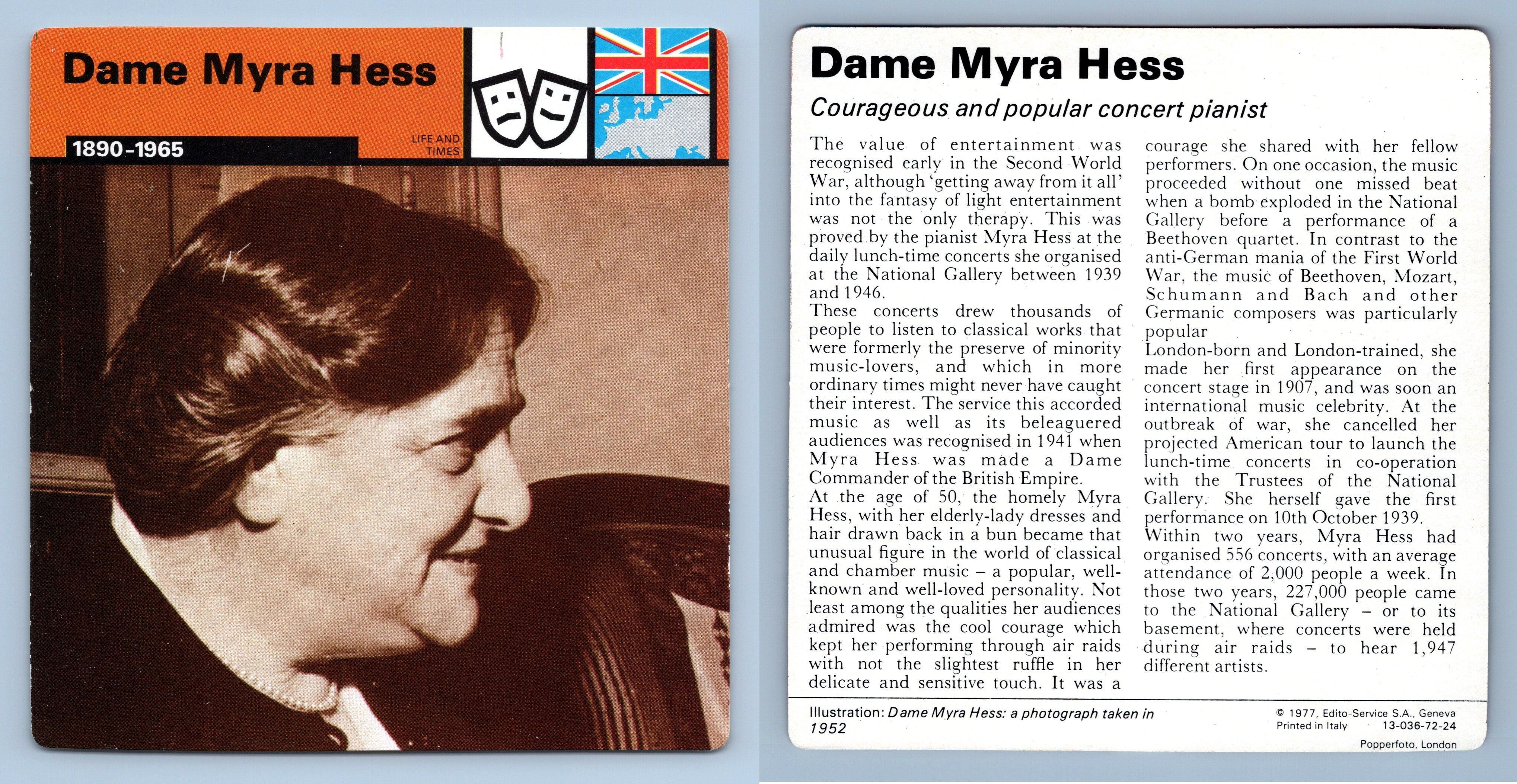 1923-41 WW2 Edito-Service SA 1977 Card SA Propaganda Life /& Times