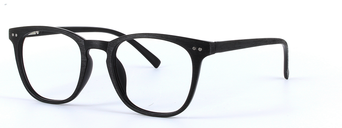 Aubrey   Unisex Black Oval Round Glasses   Superdrug Glasses Online