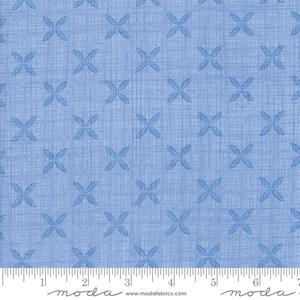 Moda Fabric Bayberry - Tile Sky