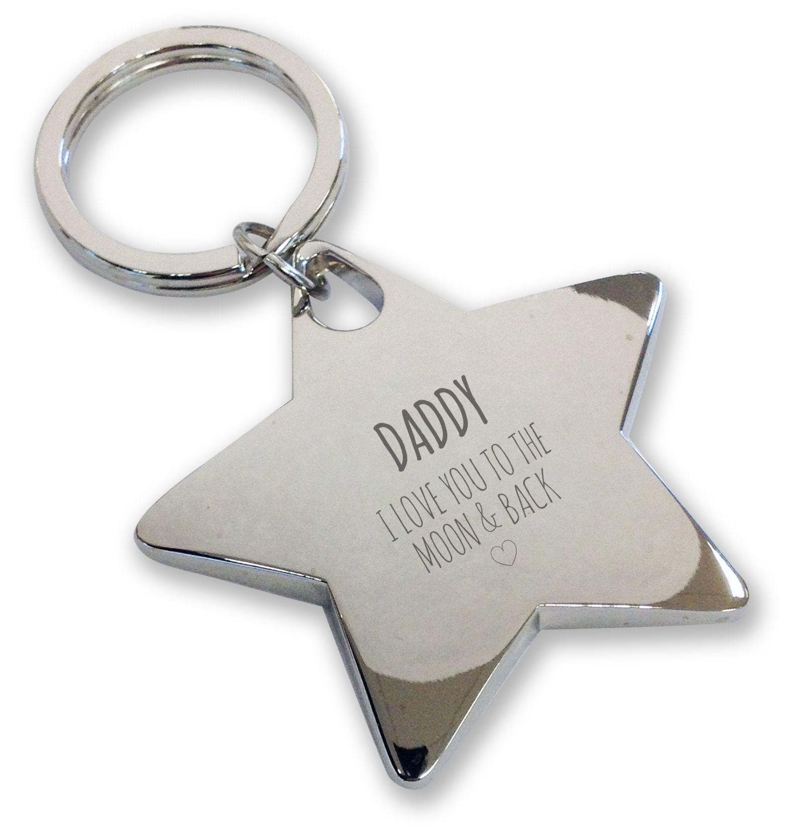 Black Torch Key Ring I love Daddy