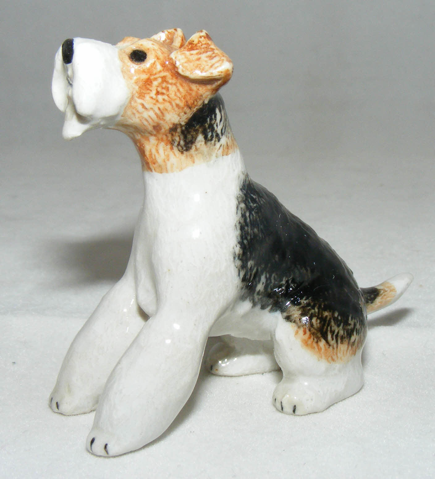 Klima Miniature Porcelain Animal Figure Wire Haired Fox Terrier ...