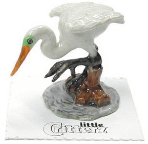 Miniature Porcelain Hand Painted Bird Figurine Blue Bird Approx 4cm High