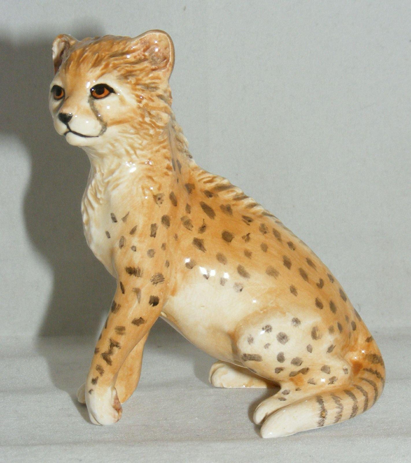 John Beswick Animal Figure Africa Babies Cheetah Cub Jba9