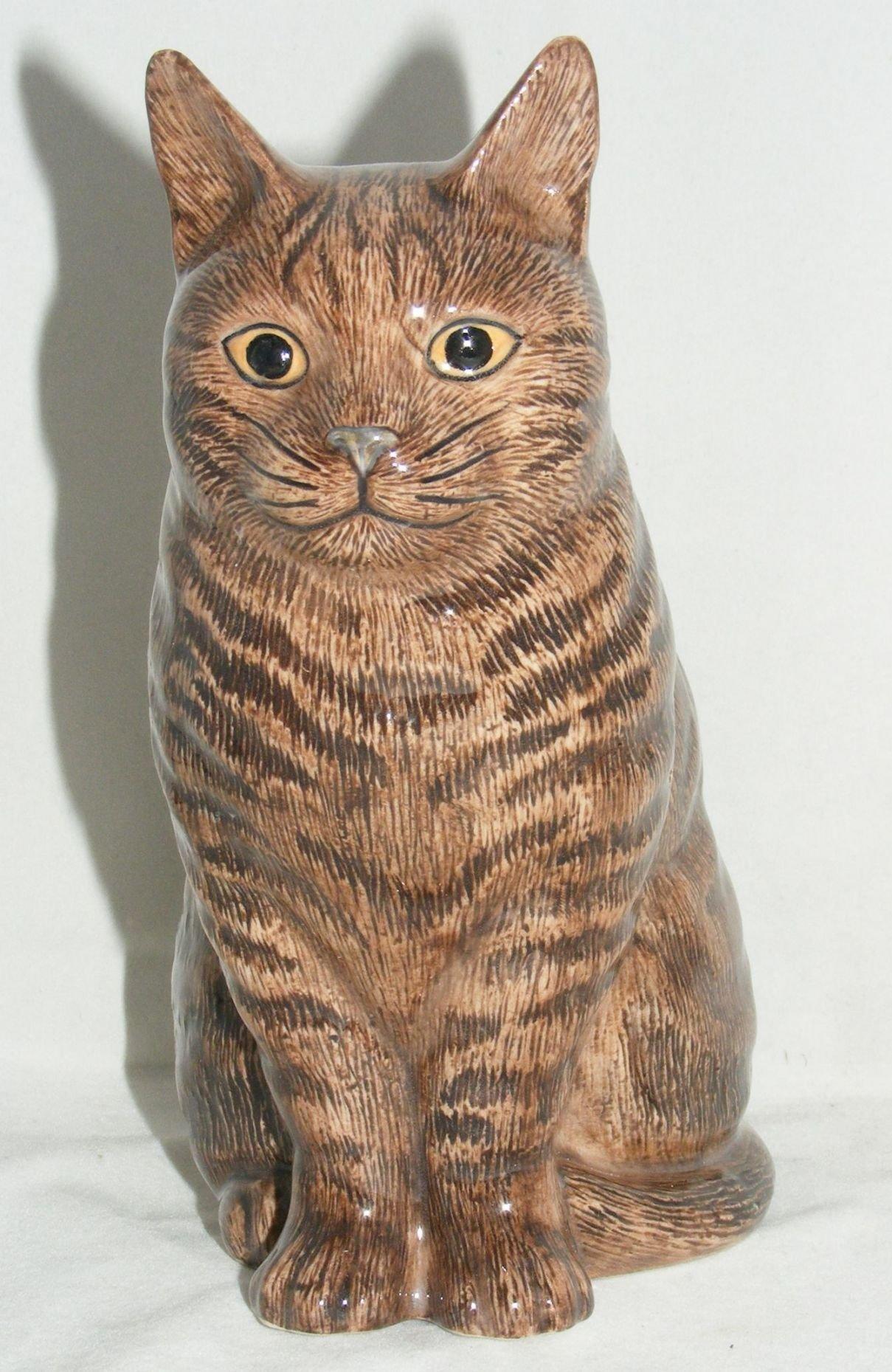Quail Ceramics Animal Figure Moggie Cat Quot Clementine Quot 6 Quot 743