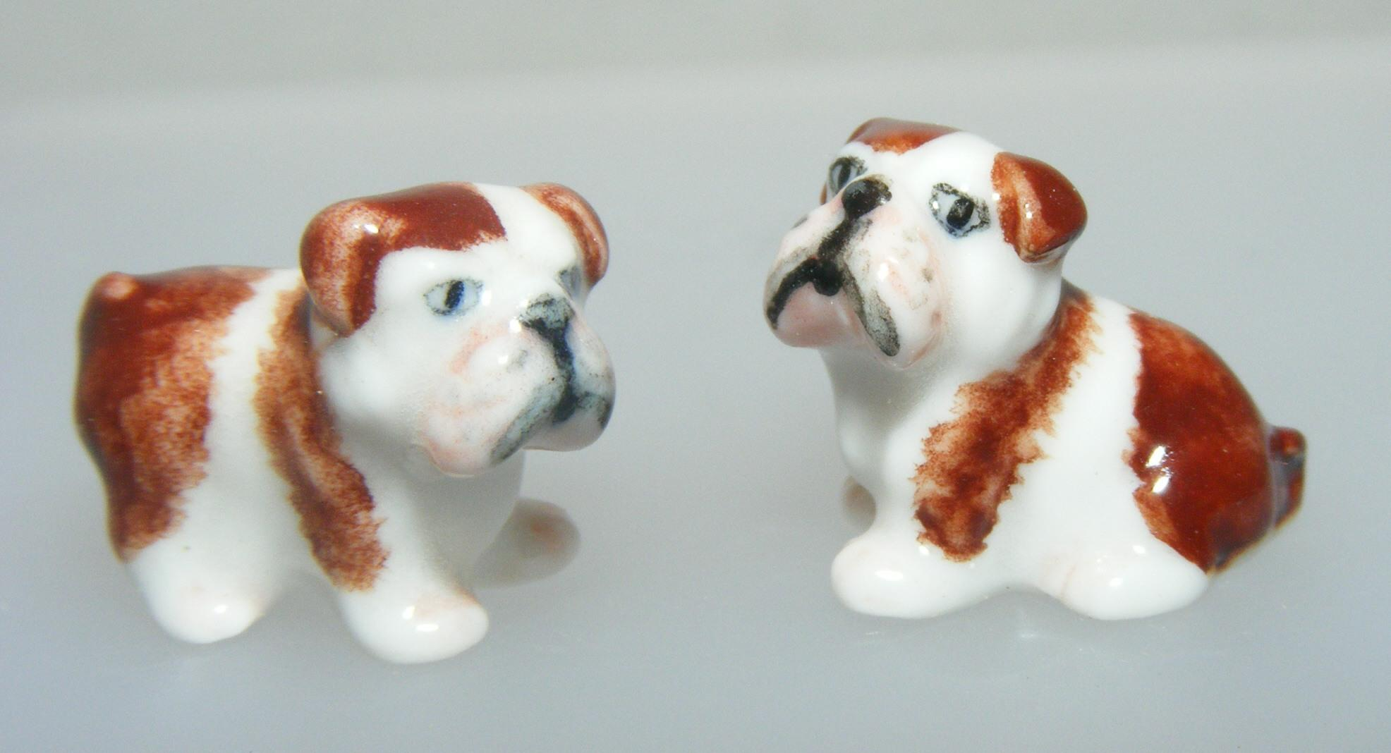 Klima Miniature Porcelain Animal Figures 2 Mini English