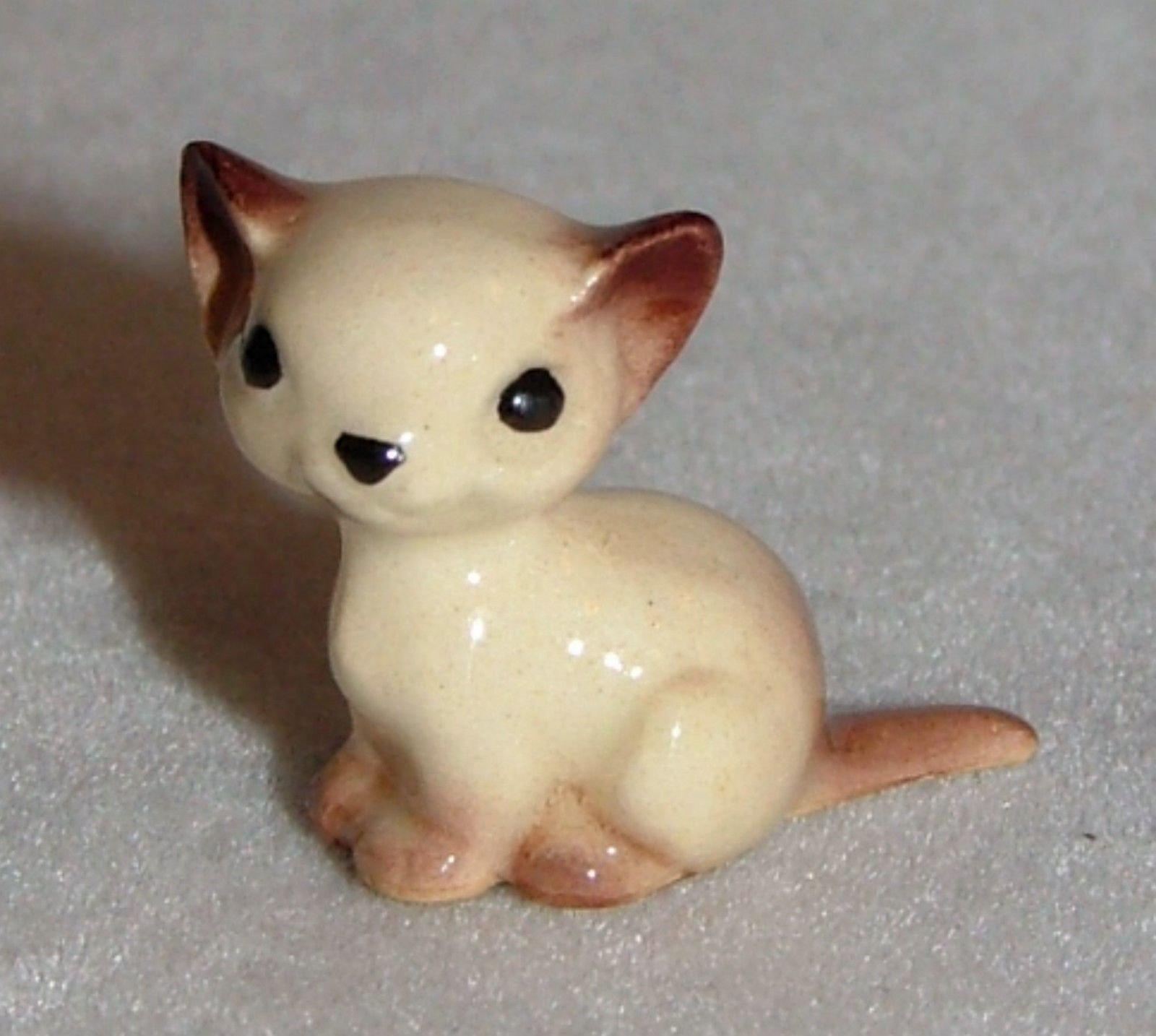 Hagen Renaker Miniature Ceramic Animal Figure Sitting