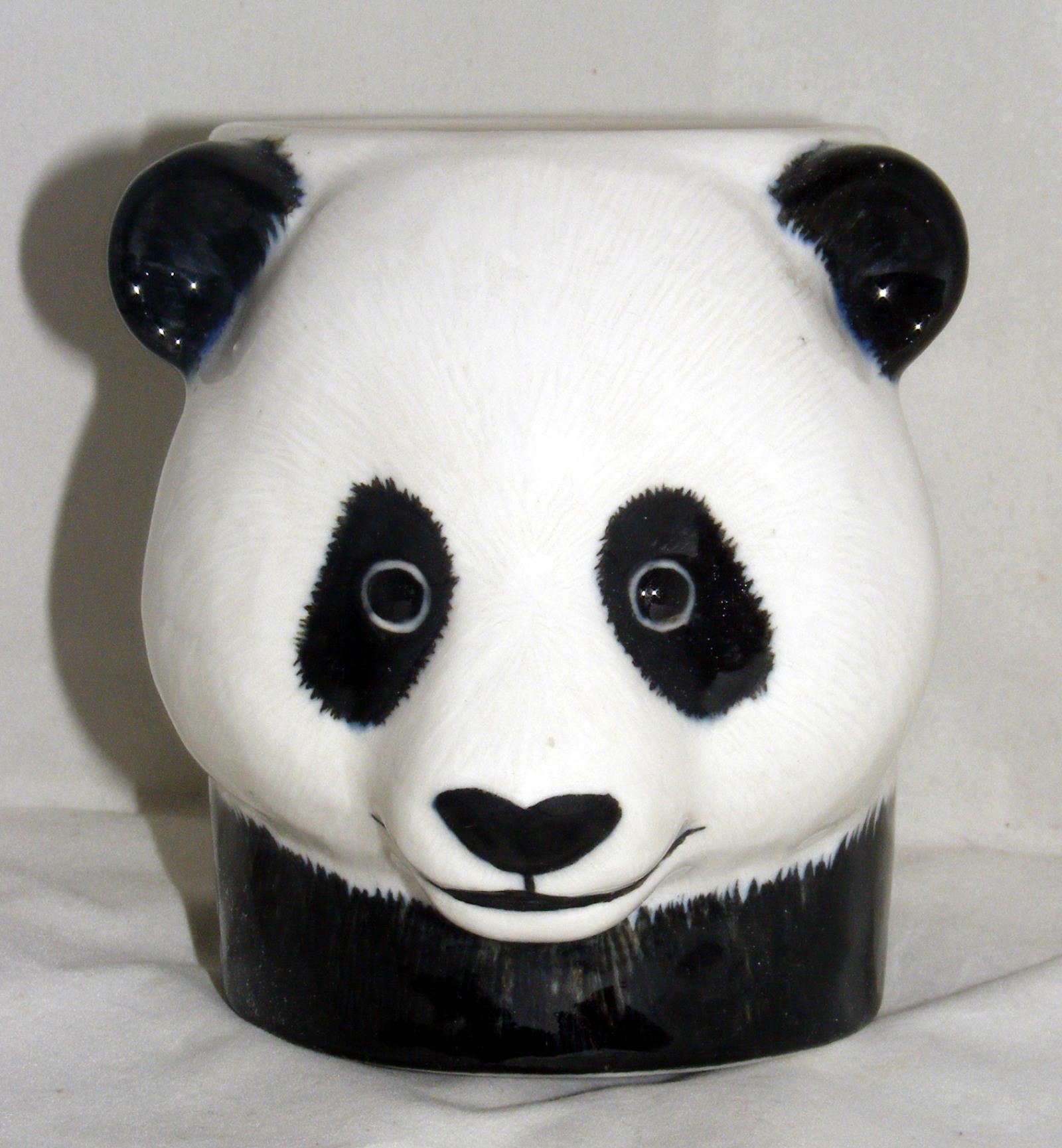 Quail Ceramics Panda Pencil Pot 954