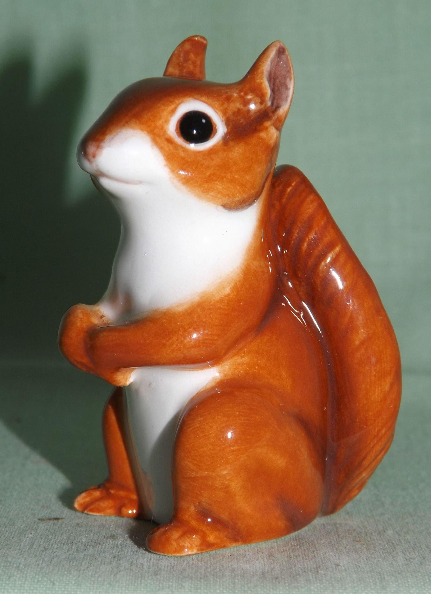 John Beswick Animal Figure Wildlife Miniatures Red