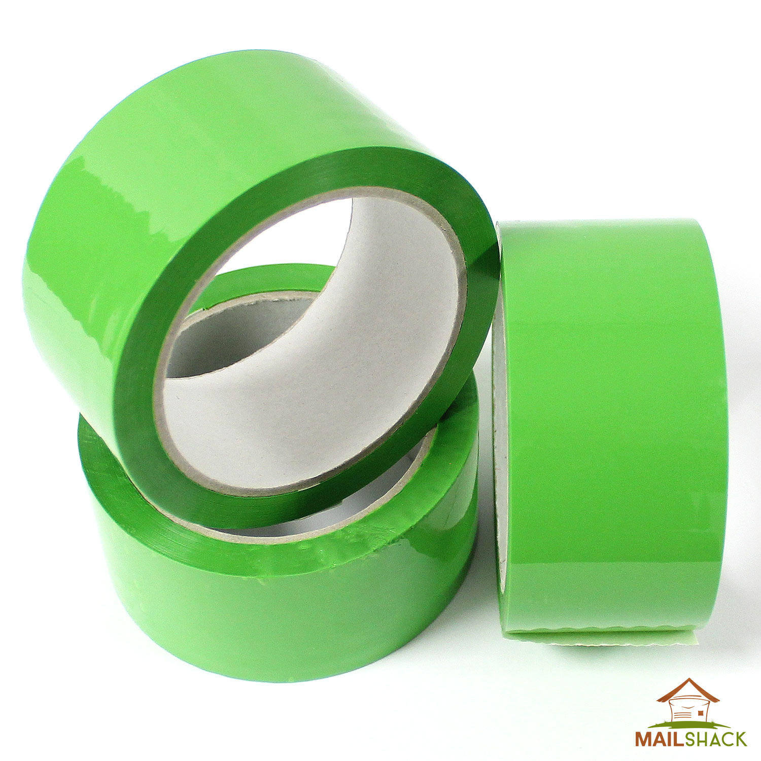 Rolls Of Green Strong Parcel Tape Packing Packaging