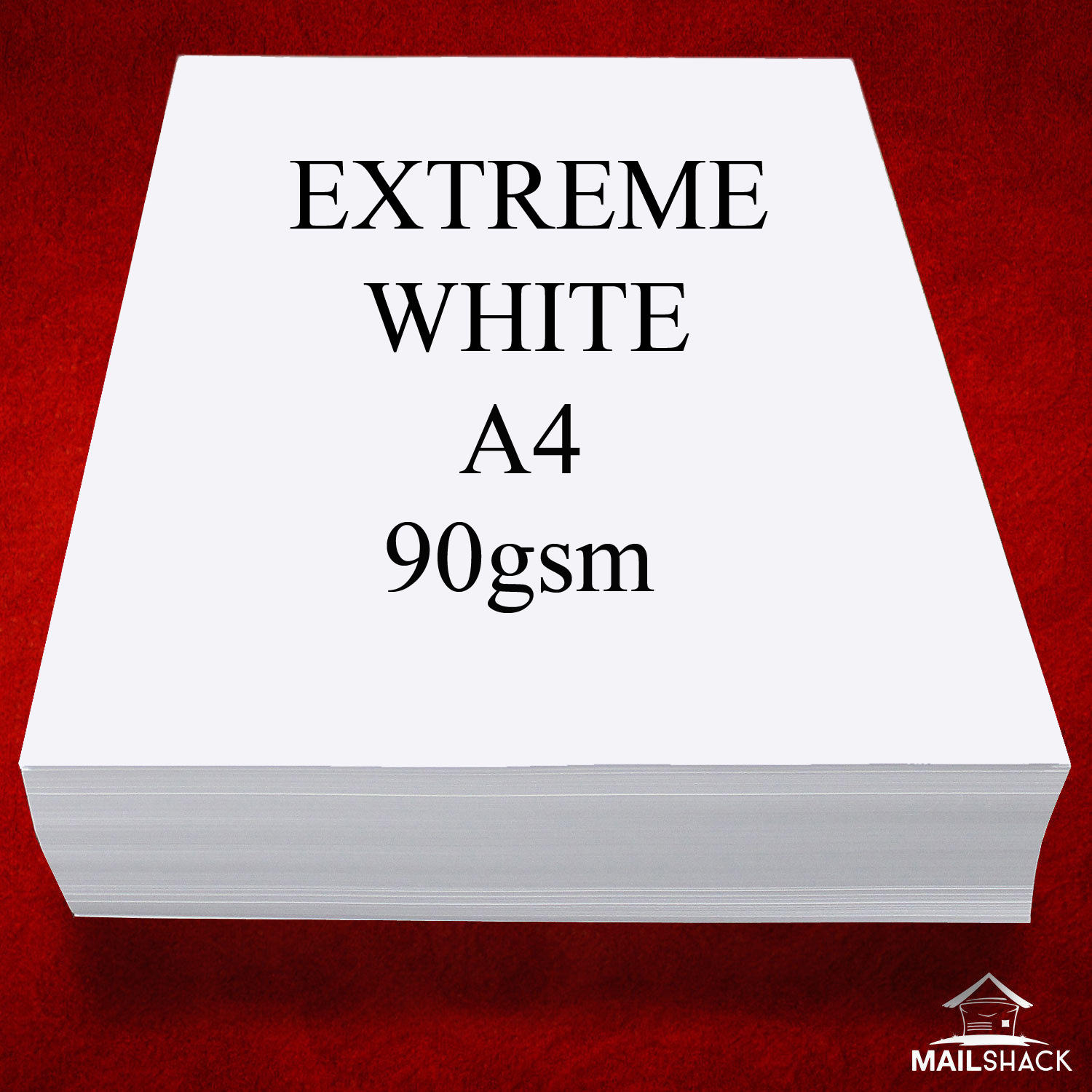 100 Sheets EXTREME WHITE A4 90gsm SMOOTH Paper Advocate High Quality Copy Print