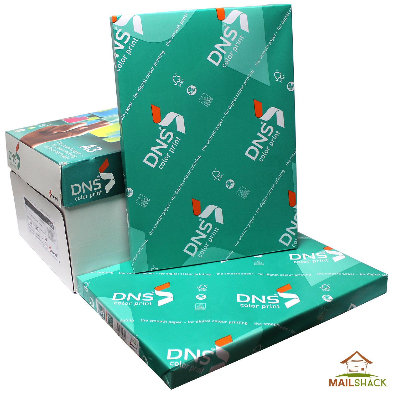 Color printing paper - Mondi Dns A3 White Paper Premium 120gsm Print 1 2 3 4 5 6 7 Reams Of 250 Sheets