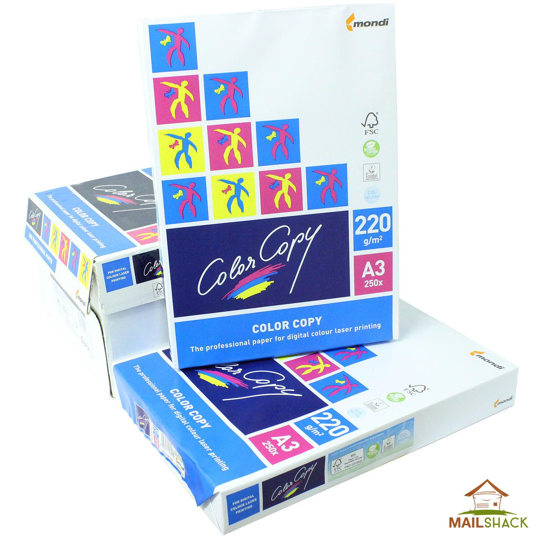 ebcdbd06d Color Copy A3 White Paper PREMIUM 220gsm Printing 1 2 3 4 ...