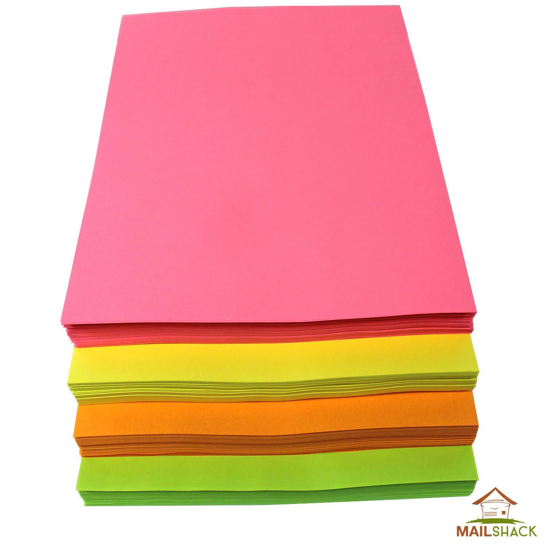 Neon paper