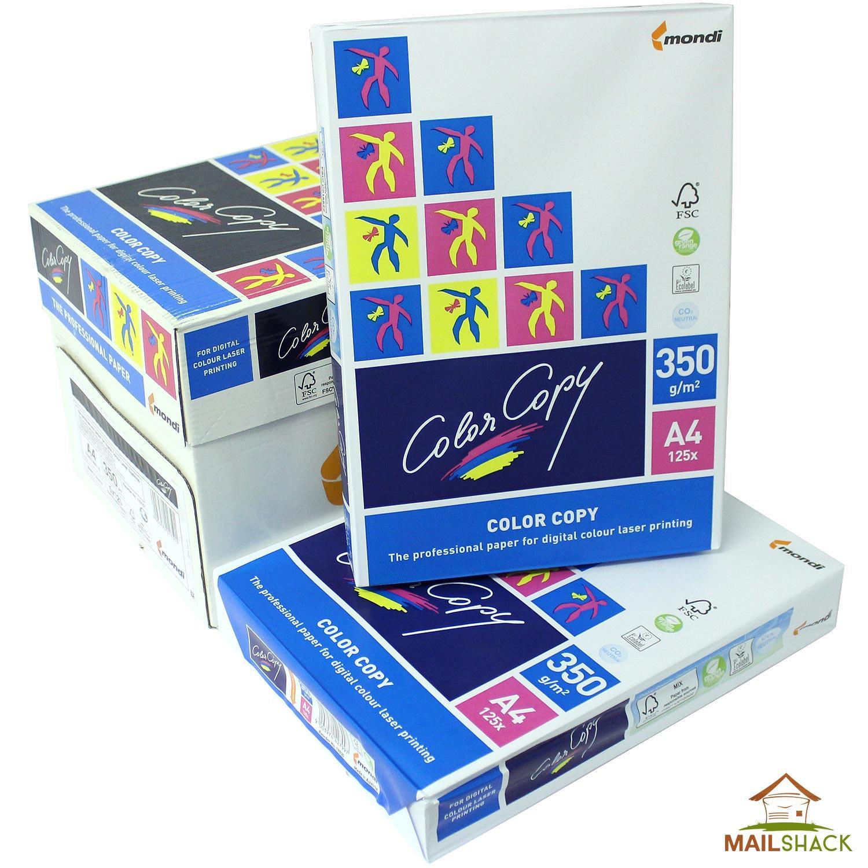 1c48de8d4 Color Copy A4 White Paper PREMIUM 350gsm Printing 1 2 3 4 5 ...