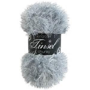 King Cole<P>Tinsel Chunky 50g