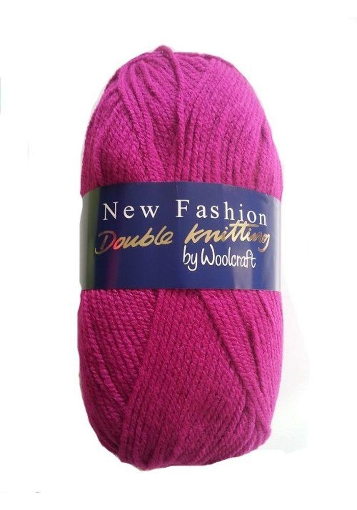 6F20 Turquoise Woolcraft New Fashion Double Knitting Acrylic Yarn//Wool 100g