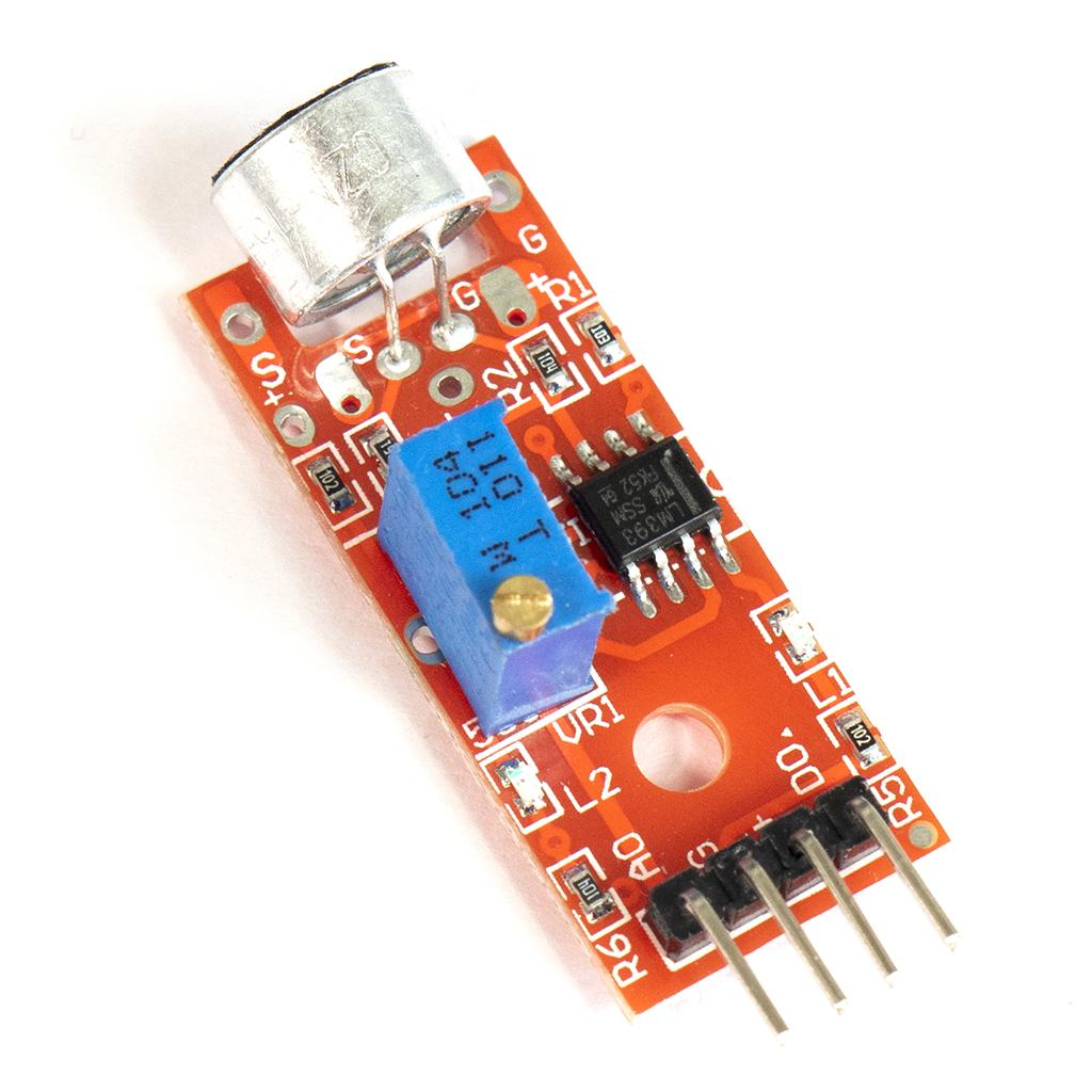 Microphone Sound Detection Sensor KY-038 with LM393 ideal
