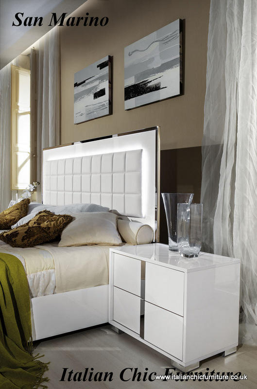 Prestige San Marino : San marino bedroom set with drawer dresser white
