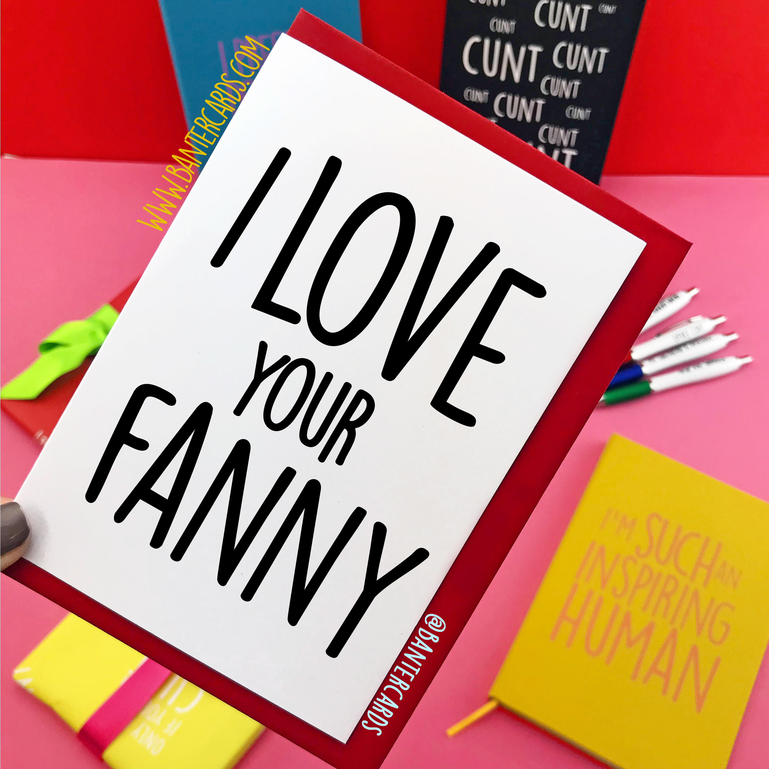 I Love Your Fanny
